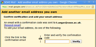 Step 4: Verify your address